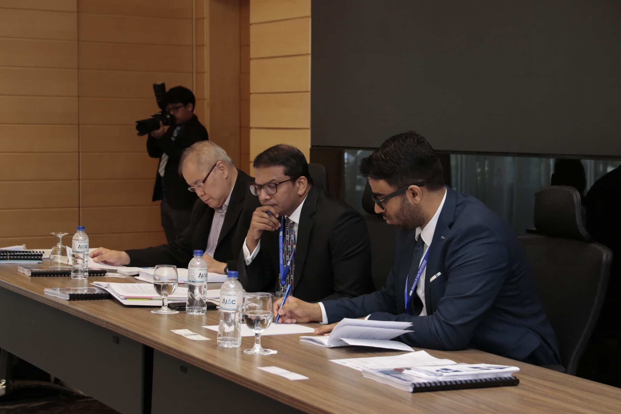 Willem C. Vis International Commercial Arbitration Pre-Moot Arbitrators from Singapore