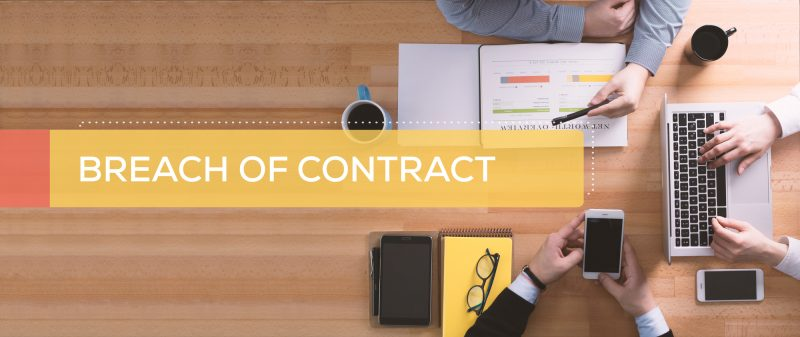 breach of contract can result in termination of contract